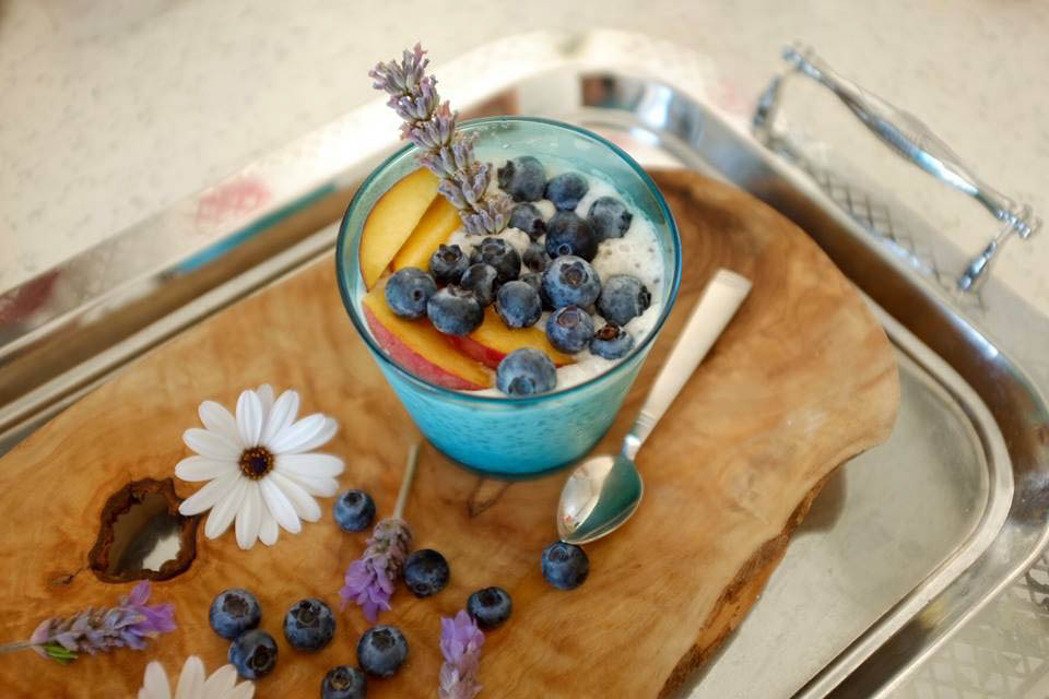 Recipe: chia pudding with blueberries
