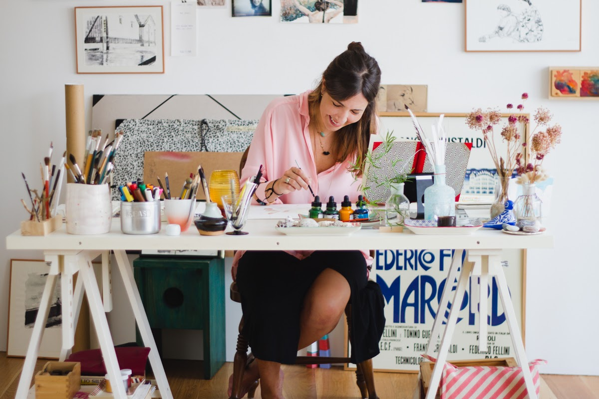 Meet the artist Catalina: art is a universal language
