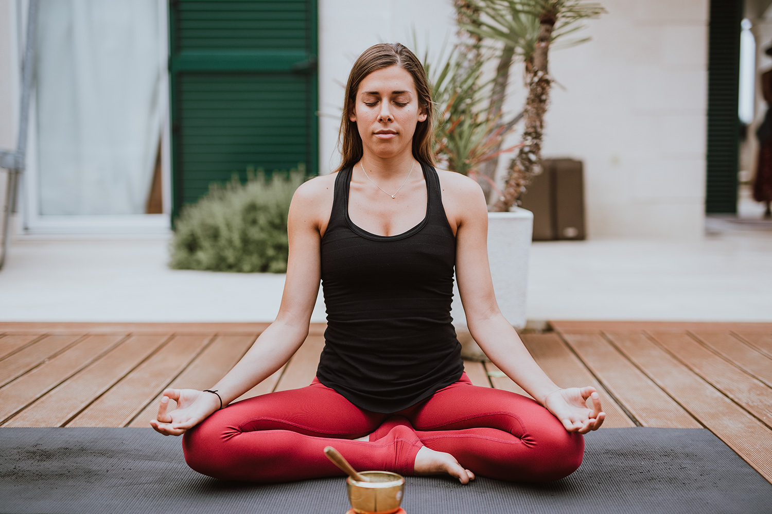 Our teacher Leah: yoga has changed my life in many ways