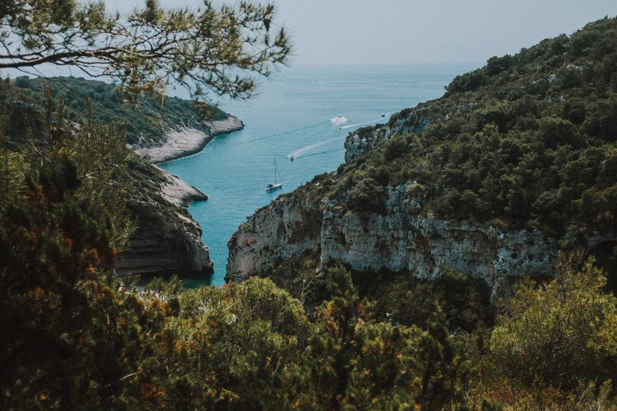 Adventure retreats on Vis island